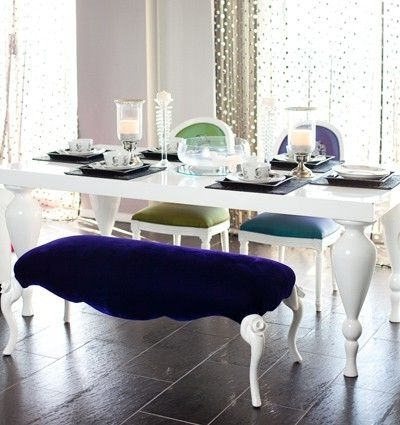 2017 White Lacquer Dining Table – Featuring Elegantly Carved, Turned Legs For Shiny White Dining Tables (View 2 of 20)