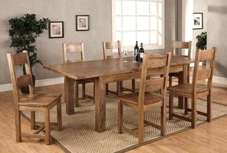 2018 6 Chair Dining Table Set Room Glass Kitchen And Chairs White Sets Pertaining To Extendable Dining Table And 6 Chairs (View 1 of 20)