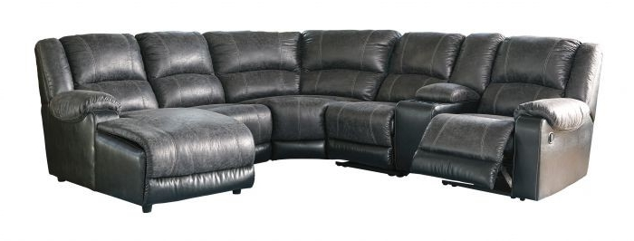 2018 6 Piece Sectional Sofa Marcus Grey W Power Headrest Usb Living Inside Marcus Grey 6 Piece Sectionals With  Power Headrest & Usb (View 1 of 15)