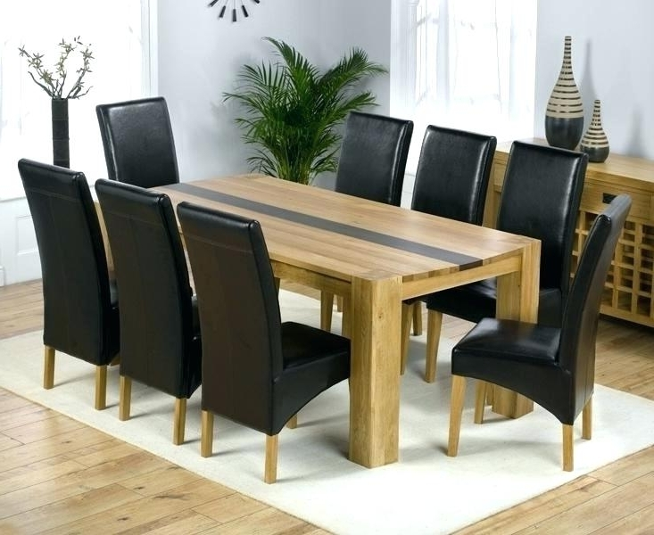 2018 8 Seat Dining Table 8 Dining Table Chairs Chairs Flower Dining Room For 8 Seat Outdoor Dining Tables (View 11 of 20)