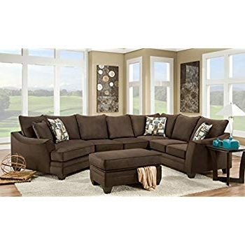 2018 Amazon: Chelsea Home Furniture Cupertino 3 Piece Sectional Pertaining To Josephine 2 Piece Sectionals With Raf Sofa (View 4 of 15)