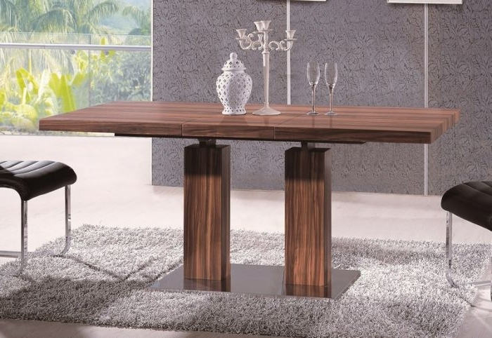 2018 At Home Usa Skudt20101 Delfina Veneer Dining Table With Regard To Delfina Dining Tables (View 2 of 20)