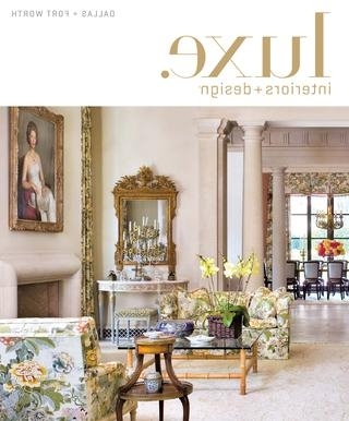 2018 Bale Rustic Grey 7 Piece Dining Sets With Pearson White Side Chairs With Regard To Luxe Magazine September 2015 Dallassandow® – Issuu (View 1 of 20)
