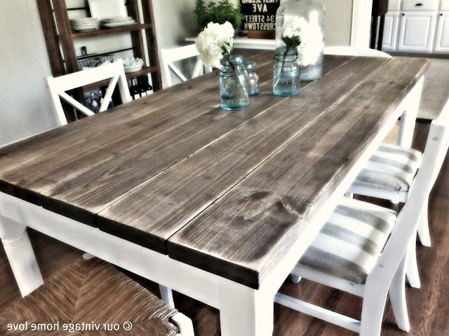 2018 Barn House Dining Tables Within Easy Cake Mix Monster Cookies (View 2 of 20)