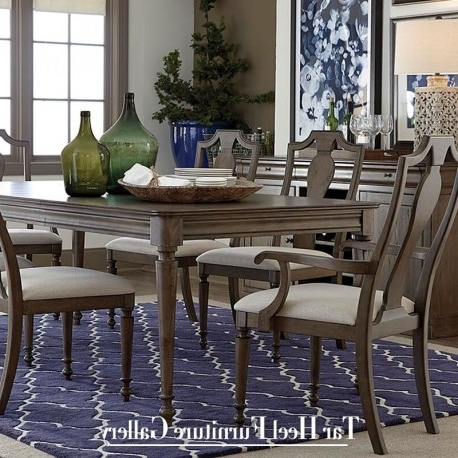 2018 Bassett Furniture Provence Rectangular Dining Table For Provence Dining Tables (View 4 of 20)