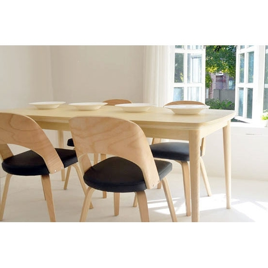 2018 Birch Dining Tables For Solid Wood Dining Tables And Chairs Dining Chair Scandinavian Modern (View 12 of 20)