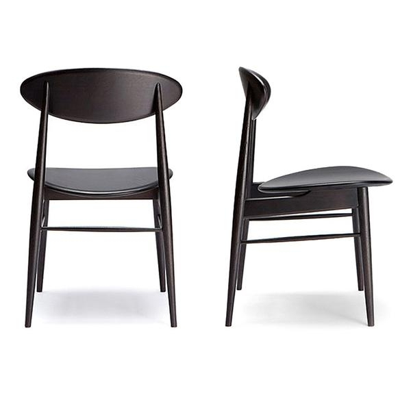 2018 Black Dining Chairs With Black Dining Chairs For Comfortable Eating – Darbylanefurniture (View 13 of 20)