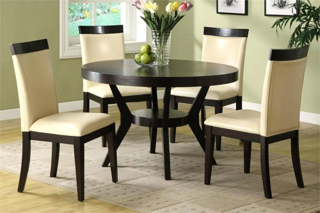 2018 Dining Table Sets For 2 Regarding Round Kitchen Table Sets For 2 Round Dining Room Set W 2 Chair (View 3 of 20)