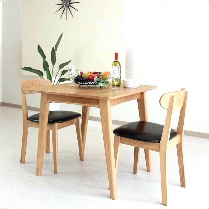 2018 Dining Table Sets For 2 Throughout  (View 4 of 20)