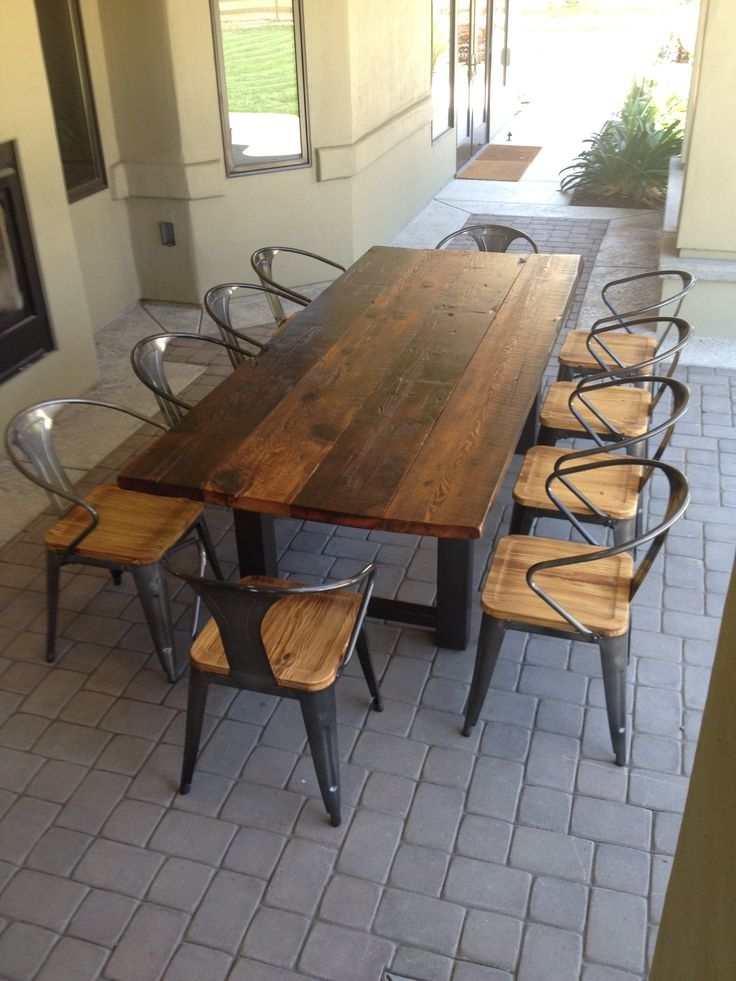 2018 Garden Dining Tables And Chairs In Patio: Extraordinary Outdoor Tables And Chairs Outdoor Furniture (View 1 of 20)