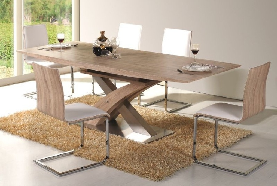 2018 Giorgio Modern Dining Table Sonoma – Mr Gregor Ltd In Modern Dining Tables (View 1 of 20)