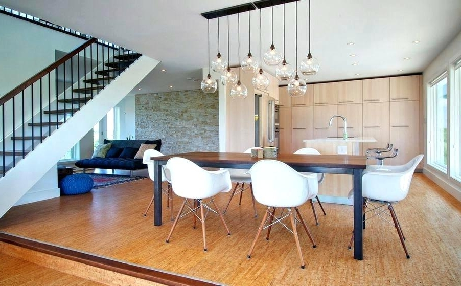 2018 Lights Over Dining Tables For Incredible Pendant Lights Dining Room Hanging Pendant Lighting Over (View 2 of 20)