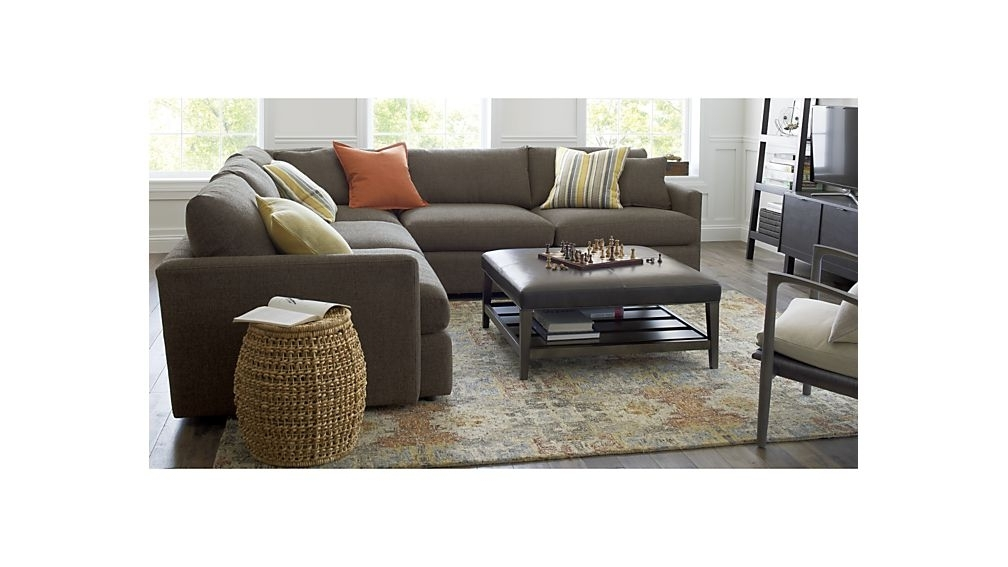 2018 Lounge Ii 3 Piece Sectional Sofa + Reviews (View 2 of 15)