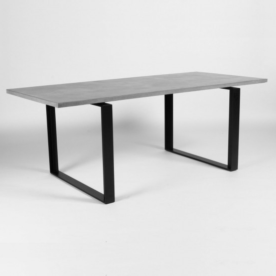 2018 Lyon Dining Tables Regarding Lyon Beton Alps Concrete Dining Table (View 1 of 20)