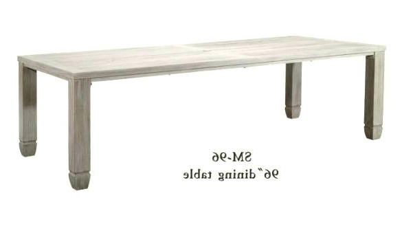 2018 Magnolia Home Bench Keeping 96 Inch Dining Tables Intended For 96 Dining Table Rectangle Home Decor Ideas For Living Room India (View 2 of 20)