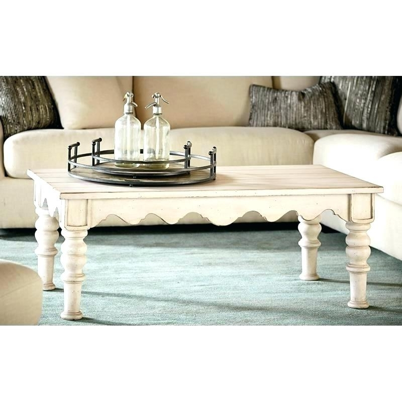 2018 Magnolia Home Coffee Table French Inspired Breakfast Table Inside Magnolia Home Shop Floor Dining Tables With Iron Trestle (View 16 of 20)