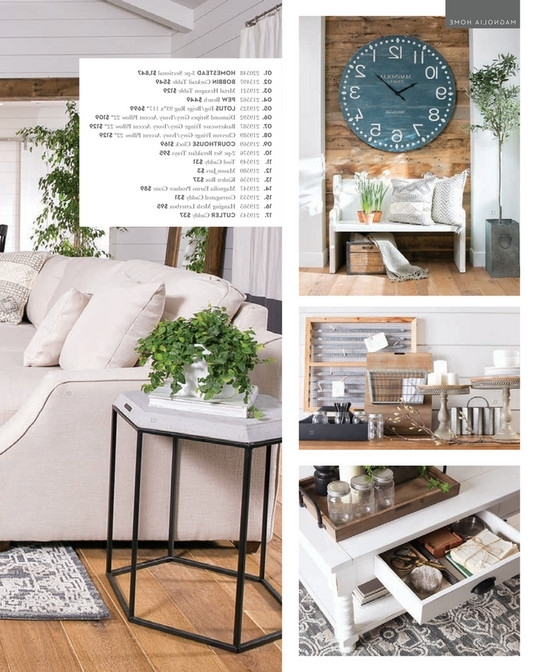 2018 Magnolia Home Homestead 3 Piece Sectionals By Joanna Gaines Pertaining To Living Spaces – Spring 2018 – Magnolia Home Homestead 3 Piece (View 1 of 15)