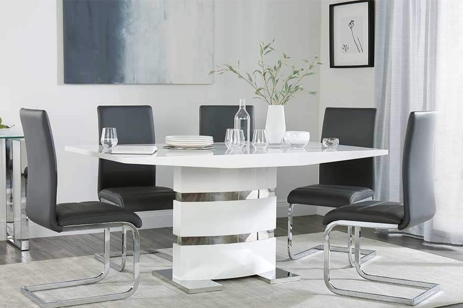 2018 Modern Dining Tables & Chairs – Modern Dining Sets (View 2 of 20)