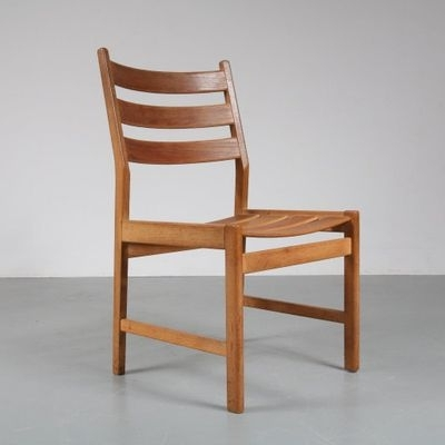 2018 Oak Dining Chairs Inside Oak Dining Chairskurt Østervig For Kp Møbler, 1950S, Set Of 6 (Gallery 16 of 20)
