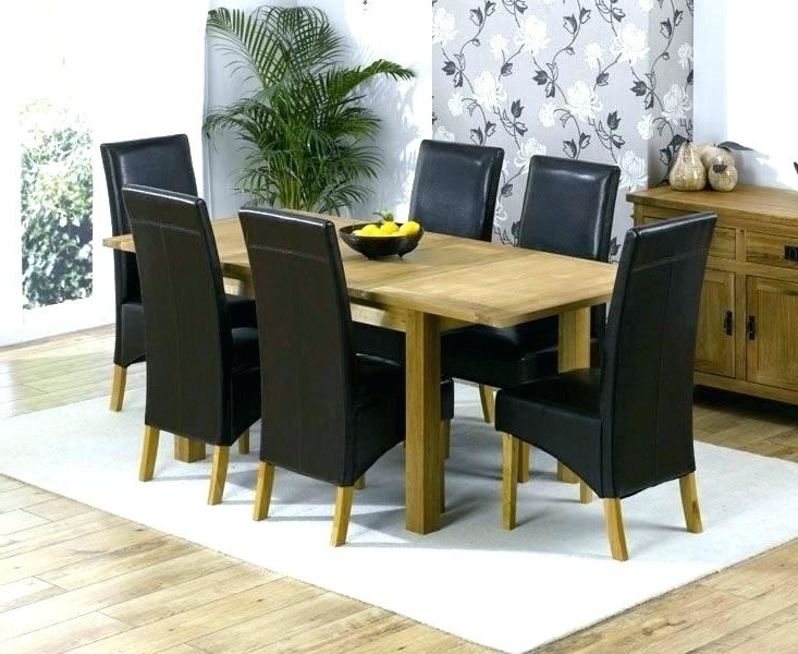 2018 Oak Extending Dining Tables And 6 Chairs Pertaining To Oak Extending Dining Table – Emanhillawi (Gallery 15 of 20)
