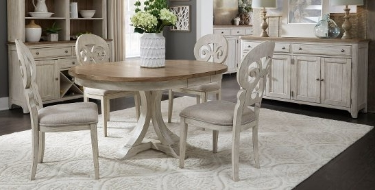 2018 Palazzo 7 Piece Dining Sets With Pearson White Side Chairs Intended For Buy Kitchen & Dining Room Sets Online At Overstock (Gallery 2 of 20)