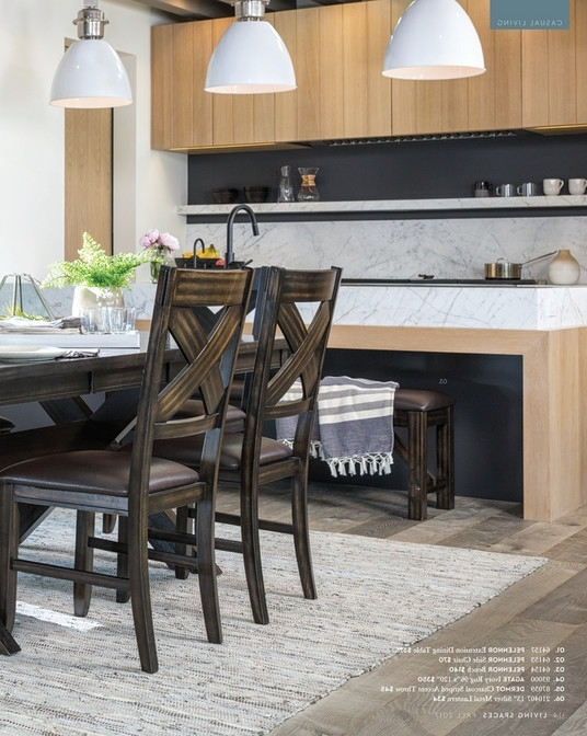 2018 Pelennor Extension Dining Tables Within Living Spaces – Fall 2017 – Pelennor Extension Dining Table (View 2 of 20)