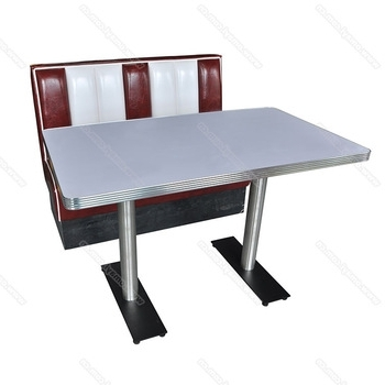 2018 Retro Dining Tables Intended For Wholesale American 1950S Retro Diner Table And Booth Furniture Set (View 2 of 20)