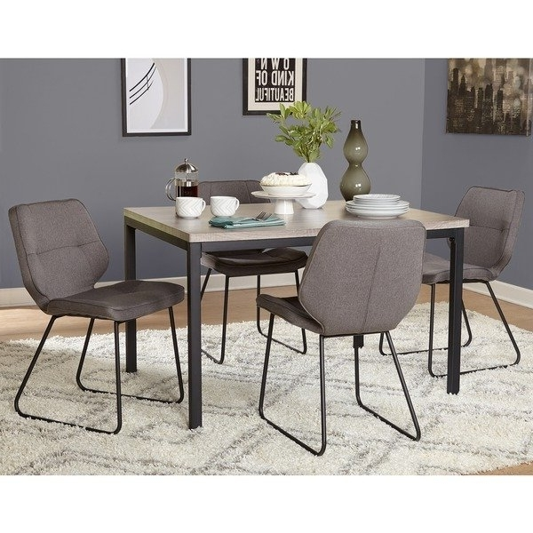 2018 Shop Simple Living 5 Piece Kaden Dining Set – Free Shipping Today Inside Caden 6 Piece Rectangle Dining Sets (View 5 of 20)
