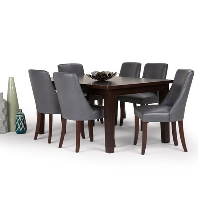 2018 Simpli Home Sotherby 7 Piece Dining Set (View 2 of 20)