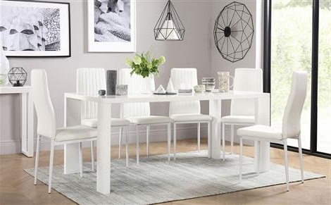2018 Smartie Dining Tables And Chairs With White Dining Sets – White Dining Table & Chairs (Gallery 18 of 20)