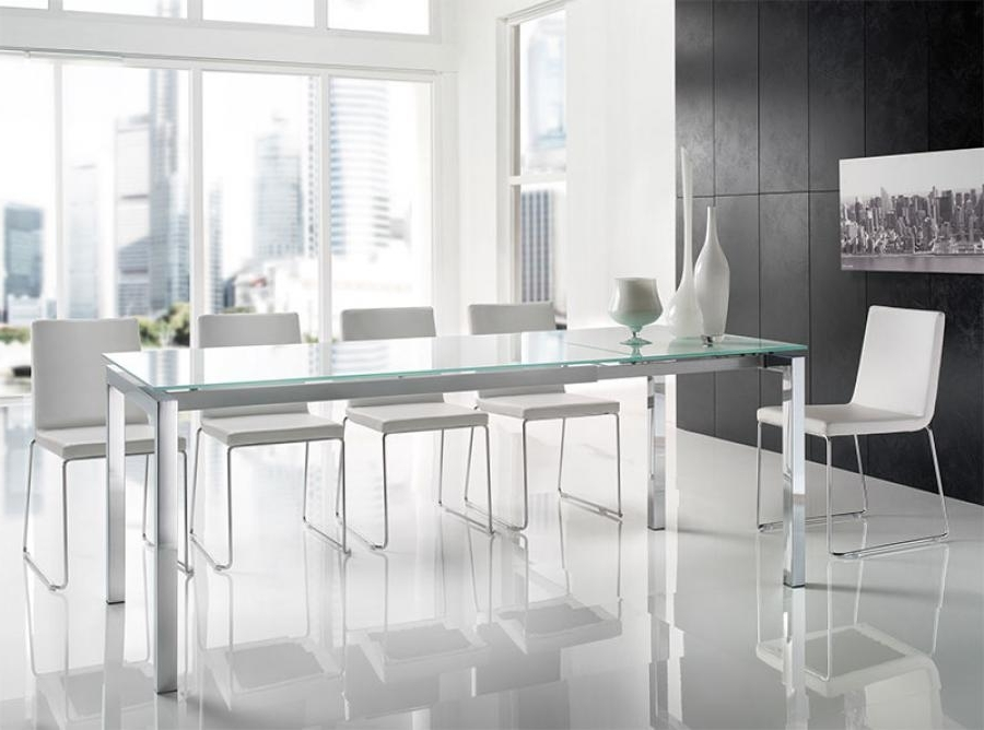 24 Surprisingly Modern Dining Table And Chairs Uk – Sfconfelca Homes Intended For Current Smoked Glass Dining Tables And Chairs (View 1 of 20)