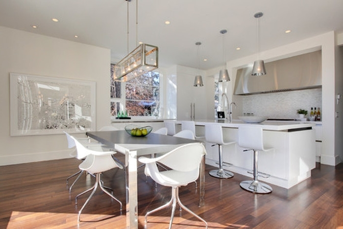 3. Lighting Above Kitchen Table Stylish Love The Light Fixture For Recent Over Dining Tables Lighting (Gallery 10 of 20)