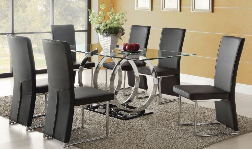 3 Steps To Pick The Ultimate Dining Table And 6 Chairs Set – Blogbeen With Most Up To Date Black Glass Dining Tables 6 Chairs (Gallery 8 of 20)