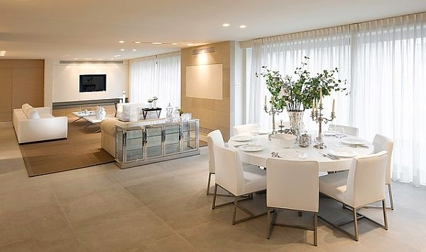 30 Eyecatching Round Dining Room Tables Design Ideas For Dining Regarding Most Up To Date White Dining Suites (View 2 of 20)