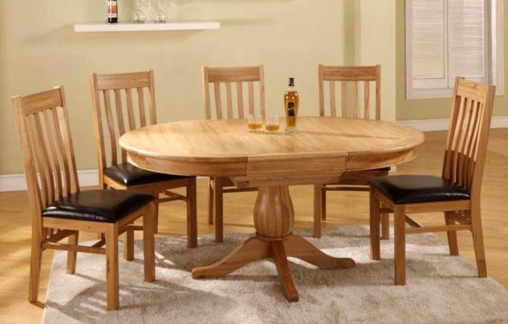 31 Oval Oak Dining Table Chairs Catalouge – Edmaps Home Decoration Inside 2017 Oval Oak Dining Tables And Chairs (View 18 of 20)