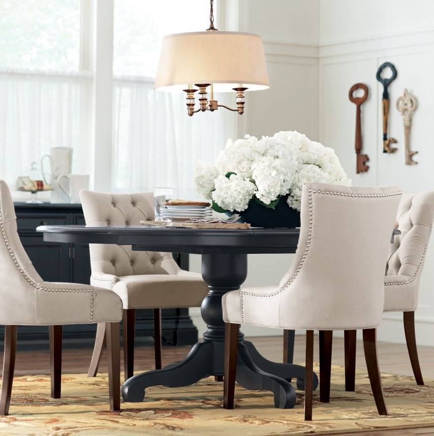 33+ Black And White Dining Room Ideas Make Wish To Go Monochrome For Latest Dining Room Tables And Chairs (Gallery 9 of 20)