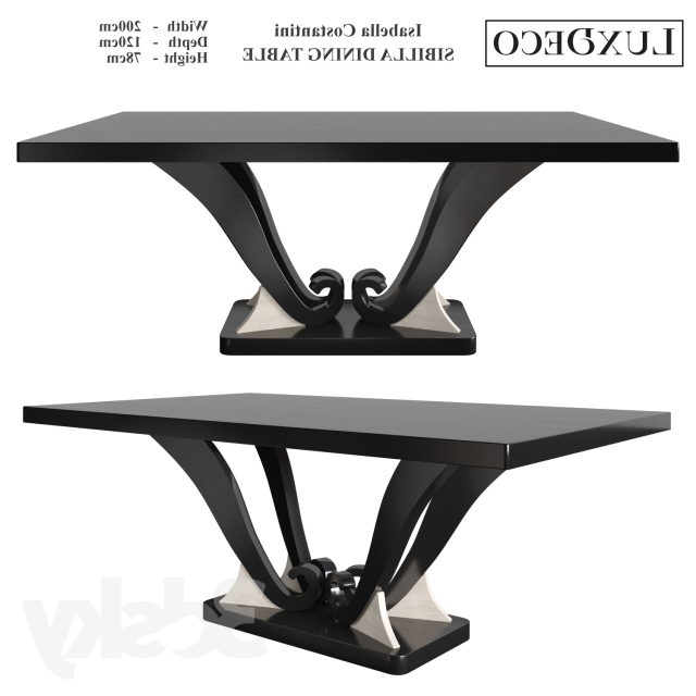 3D Models: Table – Isabella Costantini Sibilla Dining Table Regarding Most Recently Released Isabella Dining Tables (Gallery 11 of 20)