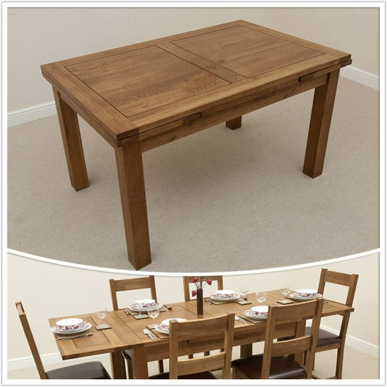 3Ft Dining Tables Within Well Known China Dining Room Furniture/3Ft X 3Ft Solid Oak 4To 6 Extending (View 5 of 20)