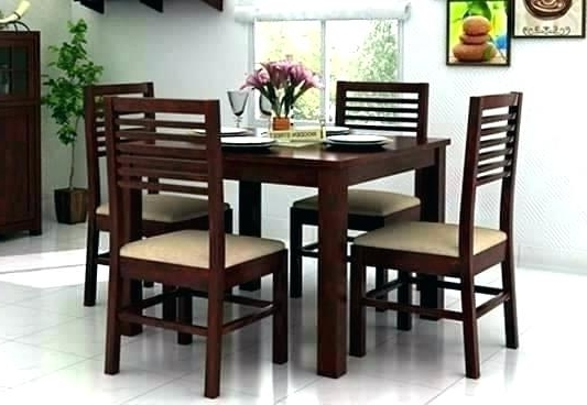 4 Seat Dining Tables With Regard To Well Known Dining Sets For 4 Rio Dining Set 4 Chairs – Insynctickets (View 5 of 20)