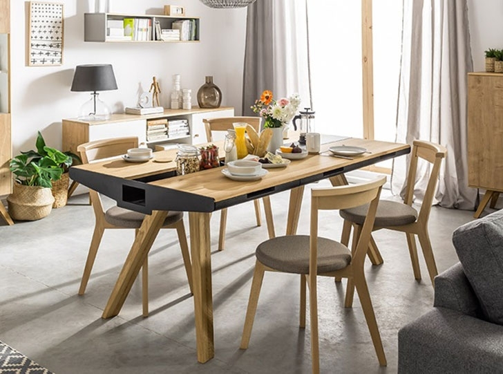 40+ Coolest Unique Dining Tables You Can Buy – Awesome Stuff 365 Throughout 2017 Oak Dining Suites (Gallery 7 of 20)