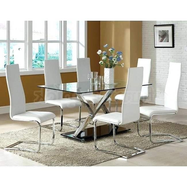 5. Chrome Dining Room Sets Throughout Latest Chrome Dining Tables And Chairs (Gallery 20 of 20)