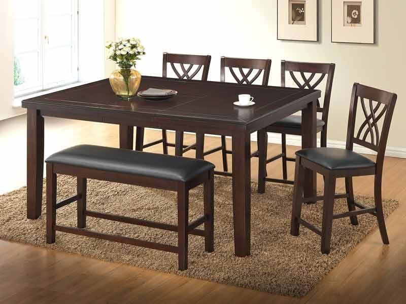 5 Pc Gavin Pub Table Set Intended For Well Known Gavin Dining Tables (View 3 of 20)