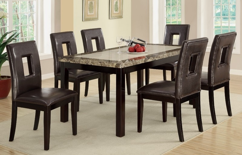 6 Chairs Dining Tables Regarding 2018 Dining Furniture – 6 Dining Chairs And Table – Home Decor Ideas (View 5 of 20)
