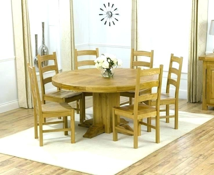 6 Person Round Dining Tables In Latest 6 Person Round Dining Table Large Size Of Dining Table For 6 Round (Gallery 12 of 20)