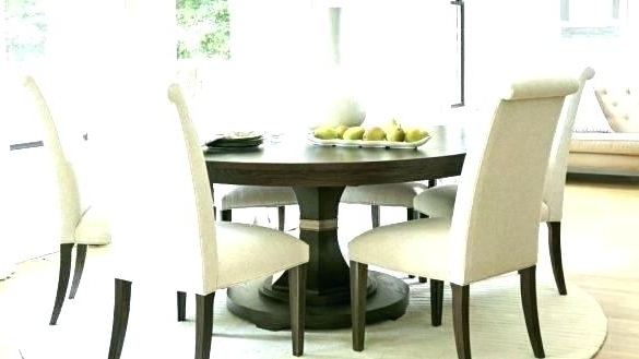 6 Person Round Glass Dining Table Round Dining Tables For 6 6 Dining Regarding Recent 6 Person Round Dining Tables (Gallery 11 of 20)