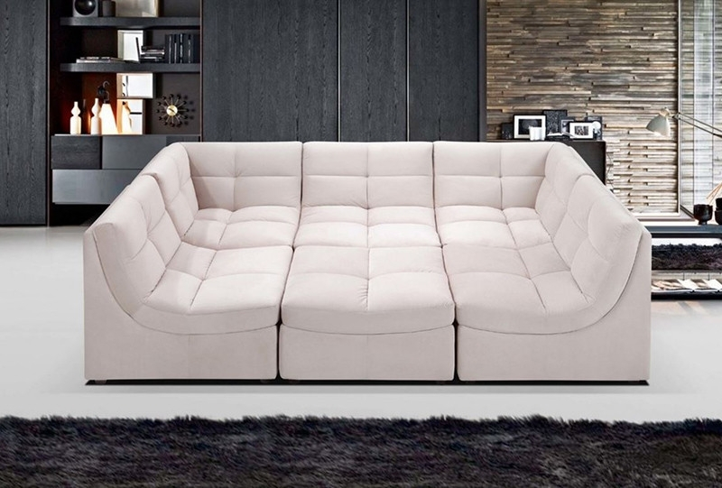 6 Piece Sectional Sofa – Ujecdent Intended For Most Current Norfolk Grey 6 Piece Sectionals (Gallery 2 of 15)