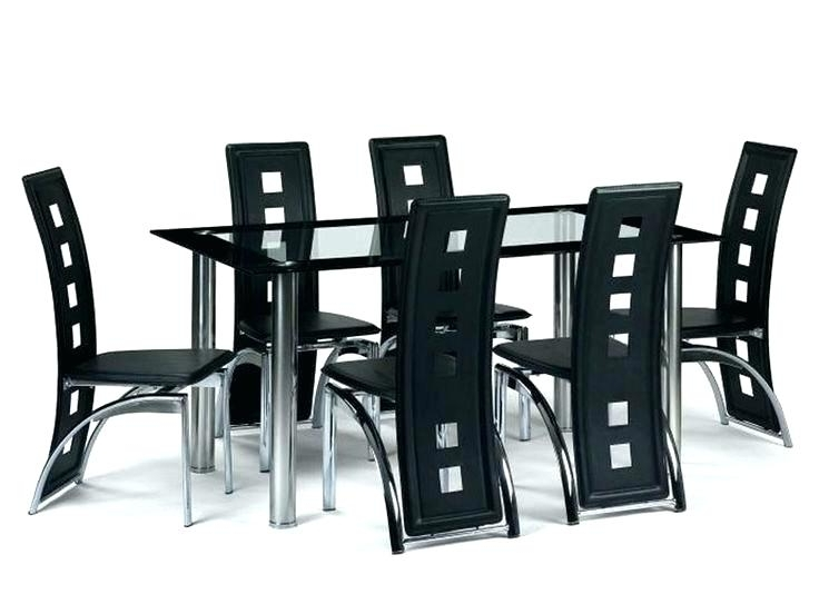 6 Round Glass Dining Table Sets Chairs New Kitchen Amusing Seat Pertaining To Fashionable 6 Seater Glass Dining Table Sets (View 1 of 20)
