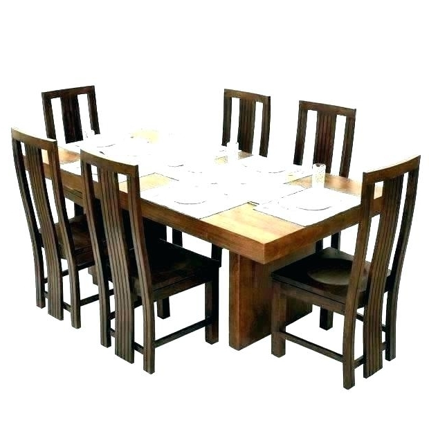 6 Seat Dining Table Sets With Latest Round 6 Seater Dining Table – Buxenz (View 4 of 20)