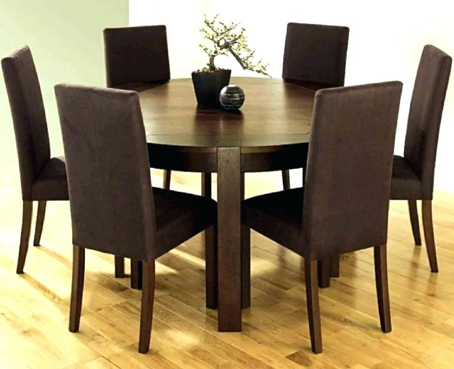 6 Seat Round Dining Tables For Most Up To Date Dining Table Seats 6 Round Rustic Round Dining Table Seats 6 – Bcrr (View 3 of 20)