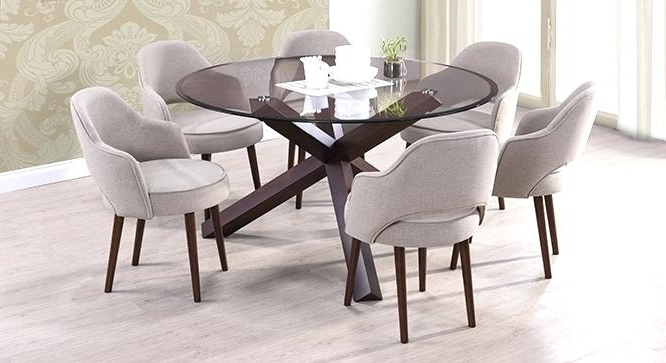 6 Seat Round Dining Tables Inside Well Known Round Dining Room Tables For 6 – Love Works (Gallery 9 of 20)
